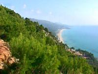 Παραλία Βράχου - Λούτσας