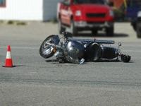 Μηχανή - Τροχαίο ατύχημα - Μοτοσυκλέτα (φωτο αρχείου)